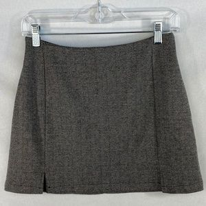 Brandy Melville Houndstooth Mini Skirt - OS